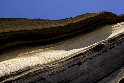 Rock formation in Teide National Park, Teneriffe, Canary Islands, Spain