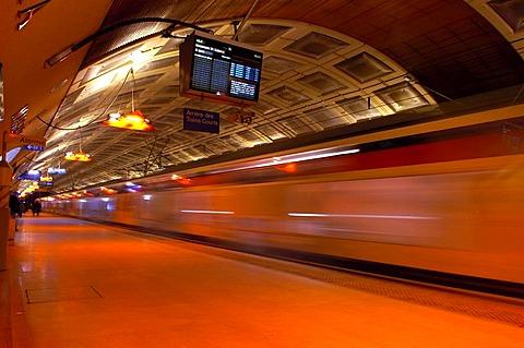 Metro RER Paris, France