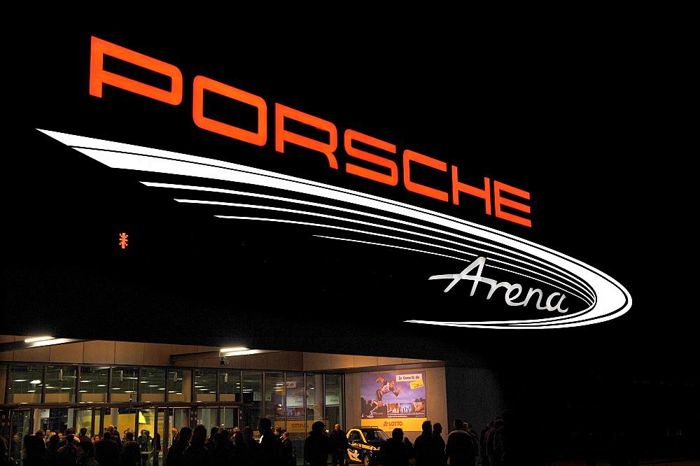 Porsche-Arena Stuttgart, Baden-Wuerttemberg, Germany