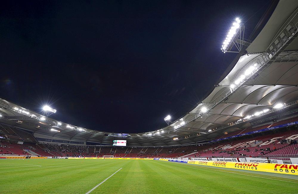 Gottlieb-Daimler-Stadion Stuttgart, Baden-Wuerttemberg, Germany