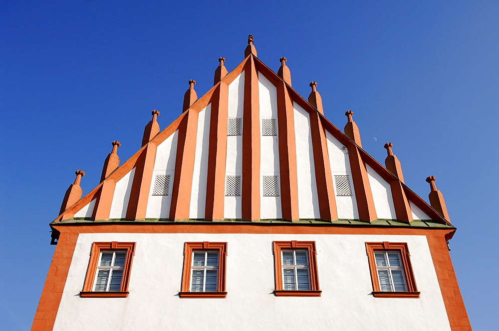 Old town hall, Hassfurt, Lower Franconia, Bavaria, Germany, Europe