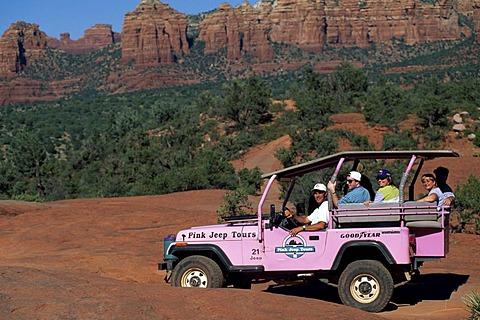 Jeep Tour, Sedona, Arizona, USA