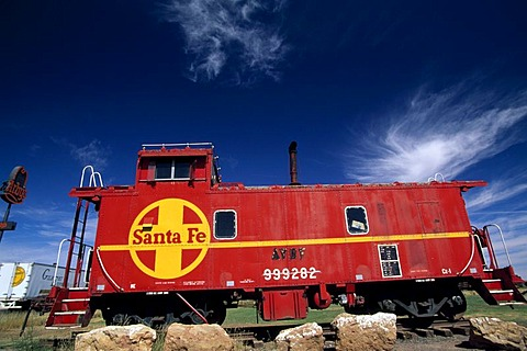 Railroad, Santa Fe, New Mexico, USA