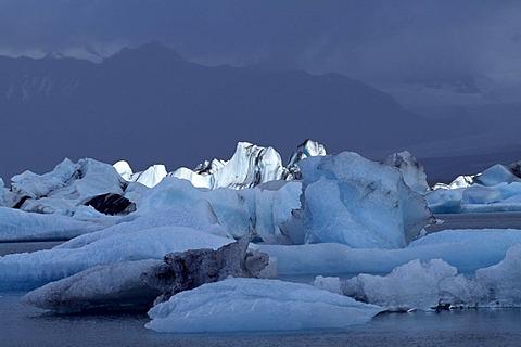 Glacier, Joekursarlon, Iceland