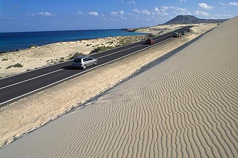 Playa de Sotavento, Jandia, Fuerteventura, Spain