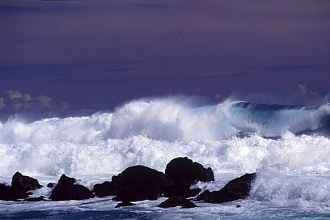 Breakers, Boucan Canot, Reunion island, Indian Ocean