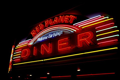Diner, Sedona, Arizona, USA