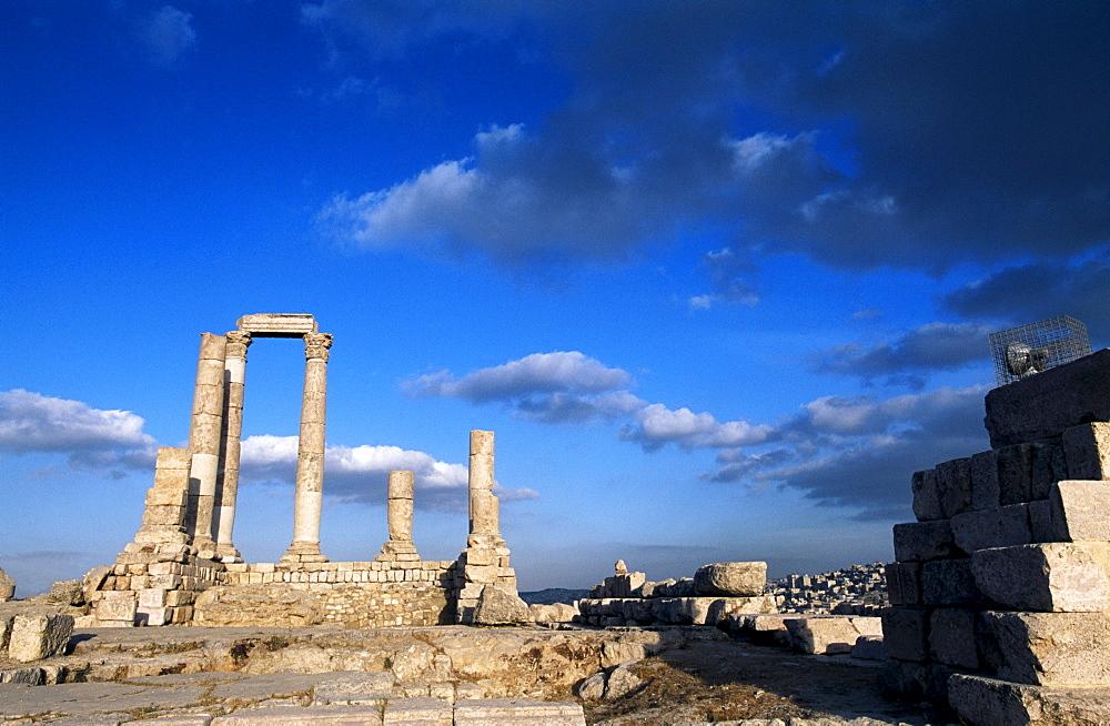 Citadel, Amman, Jordan, Asia