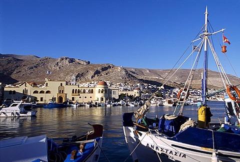 Port, Kalymnos, Cyclades, Greece