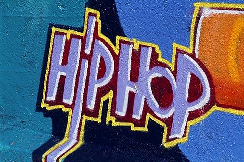 Graffiti, Hiphop, Schlachthausviertel, Munich, Bavaria, Germany