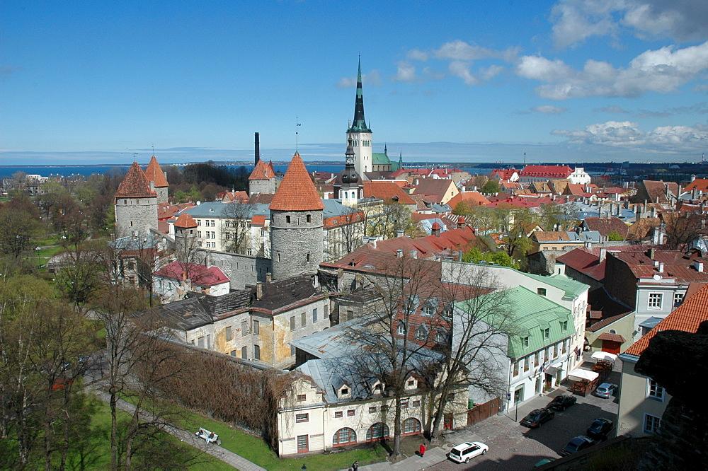 Tallinn, Estonia, old part of town