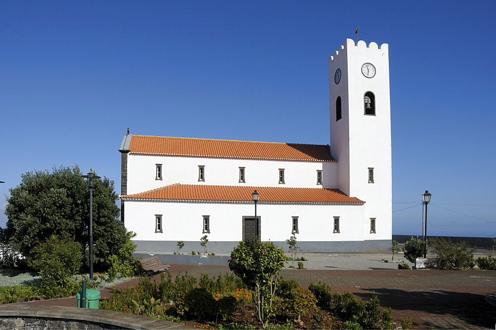 Santa Madalena Church, Madeira, Portugal, Atlantic Ocean