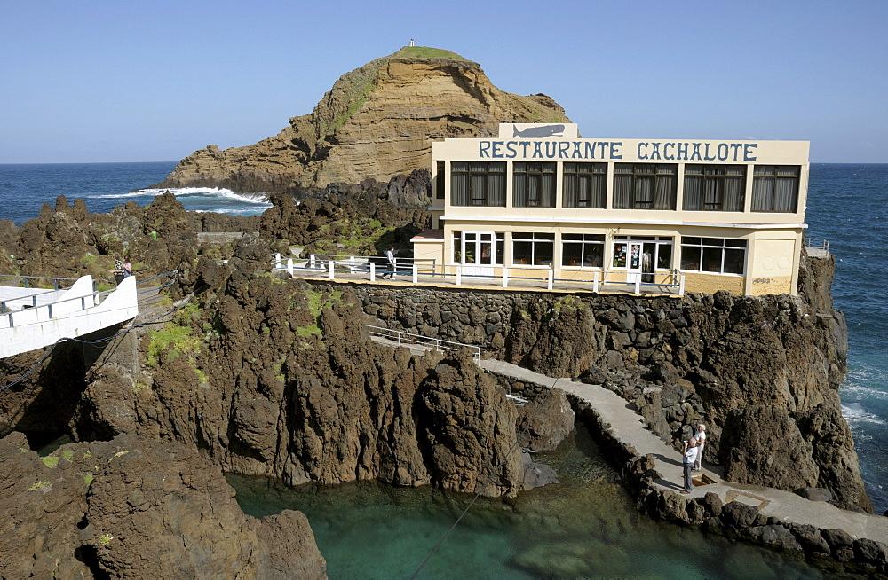 Restaurante Cachalote, Porto Moniz, Madeira, Portugal, Atlantic Ocean
