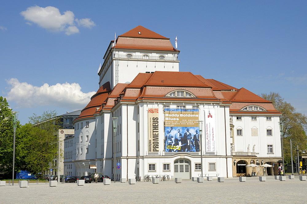 Schauspielhaus, theatre, Dresden, Saxony, Germany, Europe
