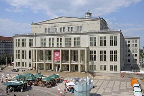 Opera House, Leipzig, Saxony, Germany, Europe