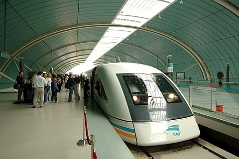 Shanghai Maglev Train Transrapid, Shanghai, China