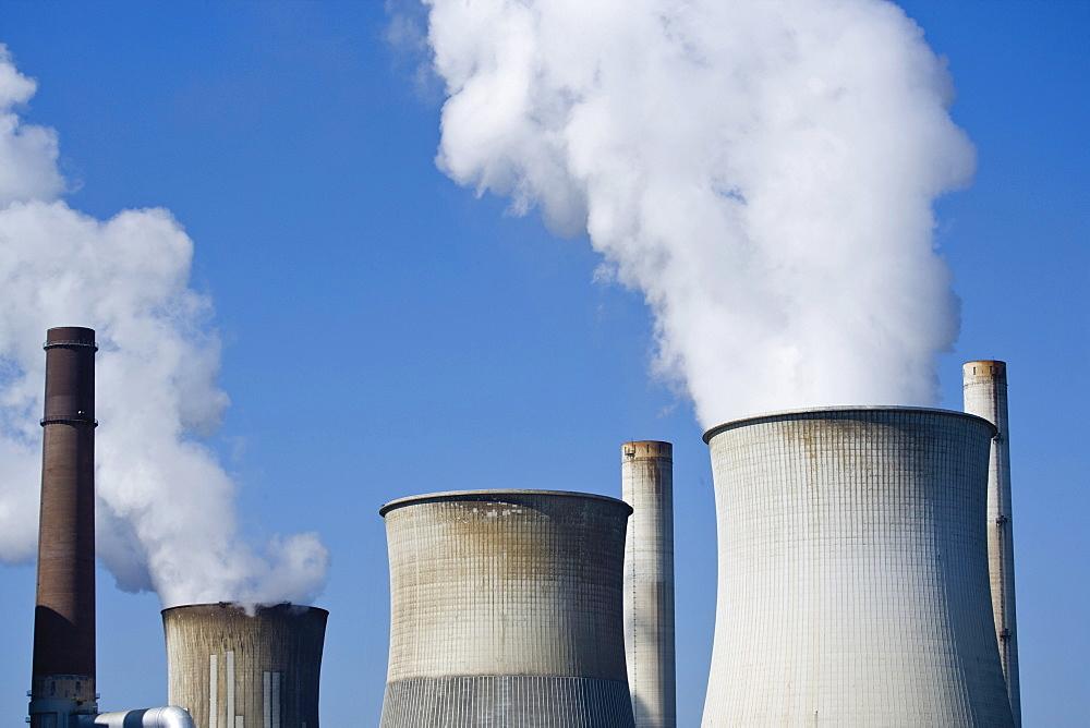 Coal power plant, Weissweiler, Aachen, North-Rhine Westphalia, Germany