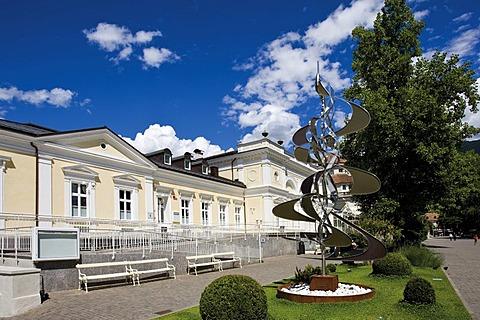 Spa resort in Merano, Bolzano-Bozen, Italy, Europe