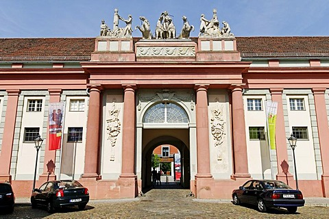 Haus der Brandenburgisch Preussischen Geschichte, House of Brandenburg-Prussian History, former royal carriage barn, Potsdam, Brandenburg, Germany, Europe