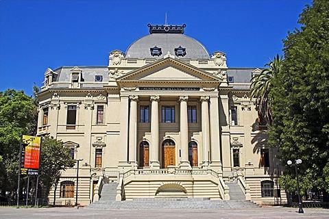 National art museum, Museo Nacional de Bellas Artes, Santiago de Chile, Chile, South Amerika
