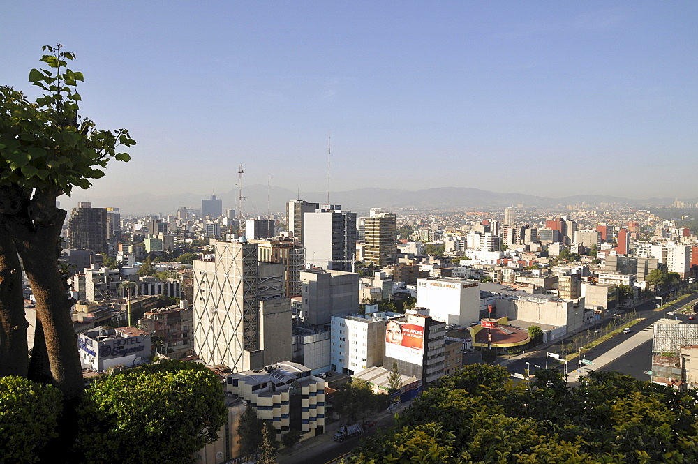 Mexico City skyline, Mexico, Central America