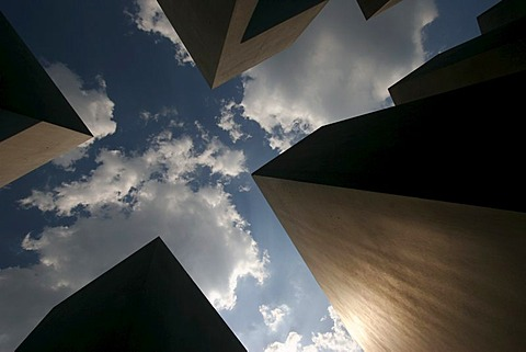 Memorial to the Murdered Jews of Europe in the german capital Berlin Germany