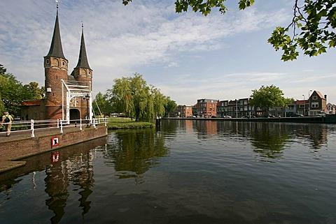 Oostpoort, (Eastern Gate) in Delft , Netherlands