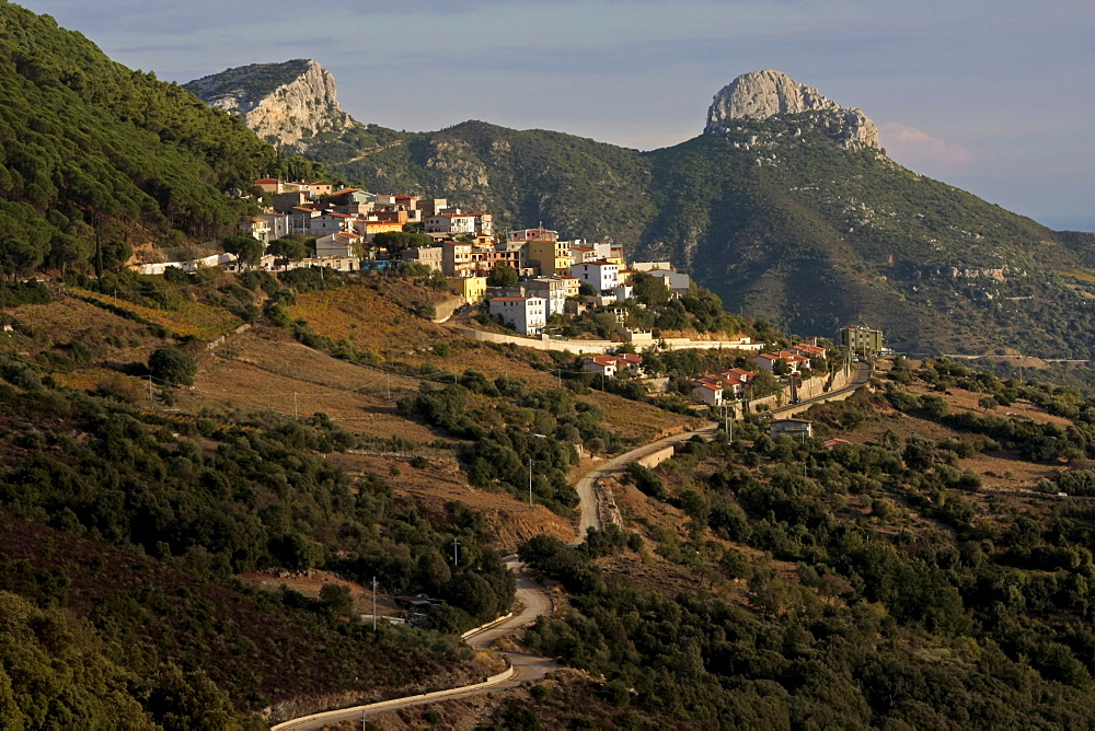 Baunei Plateau, Sardinia, Italy, Europe