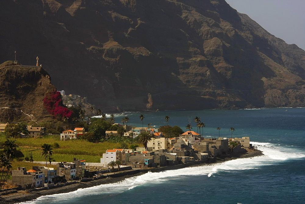 Vila das Pombas, coastal village, Santo Antao Island, Cape Verde, Africa
