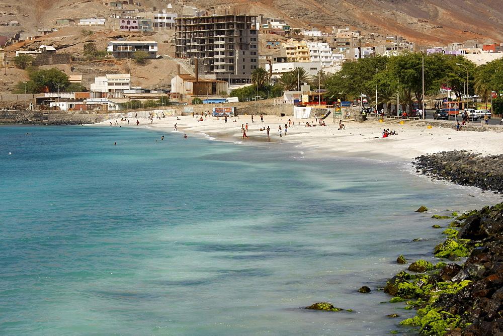 Laginha Beach, Mindelo, Sao Vicente Island, Cape Verde, Africa
