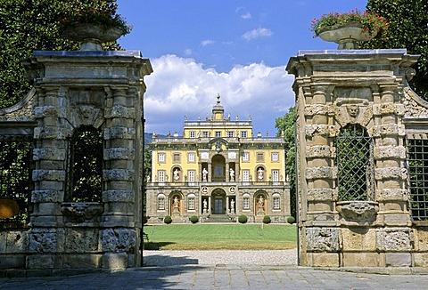 Villa Torrigiani, Camigliano, Lucca Province, Tuscany, Italy, Europe