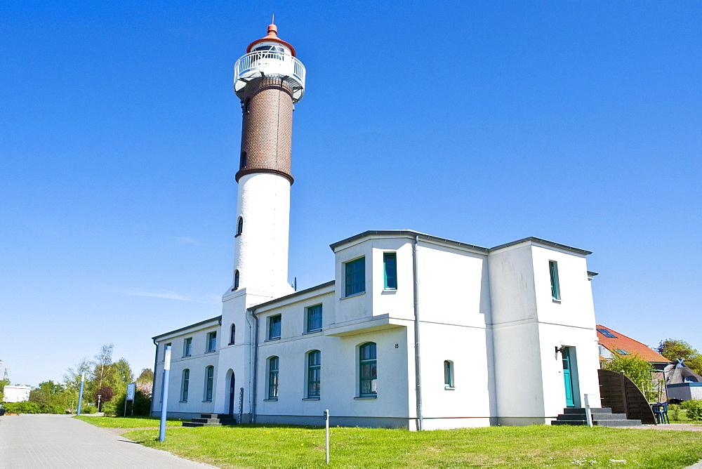 Lighthouse in Timmendorf on Poel Island, Mecklenburg-Western Pomerania, Germany, Europe