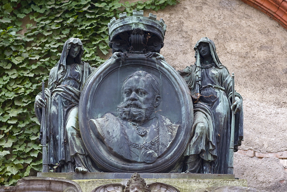 Grave of Dr. jur. Johannes Ritter von Widenmayer, 1838-1893, mayor, Alter Suedfriedhof Cemetery, Munich, Bavaria, Germany