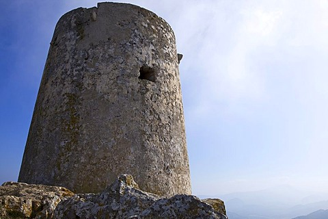 Talaia d'Albercutx, an old Pirate Watch Tower at Cape Formentor, Majorca, Balearic Islands, Spain, Europe