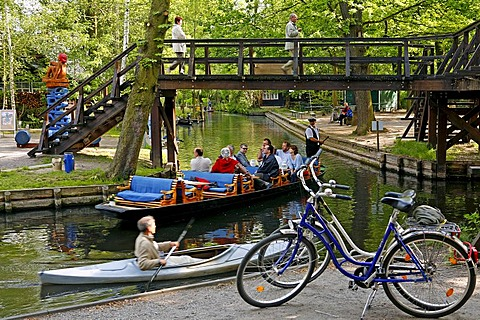 Four possibilities for holidays in the Spreewald