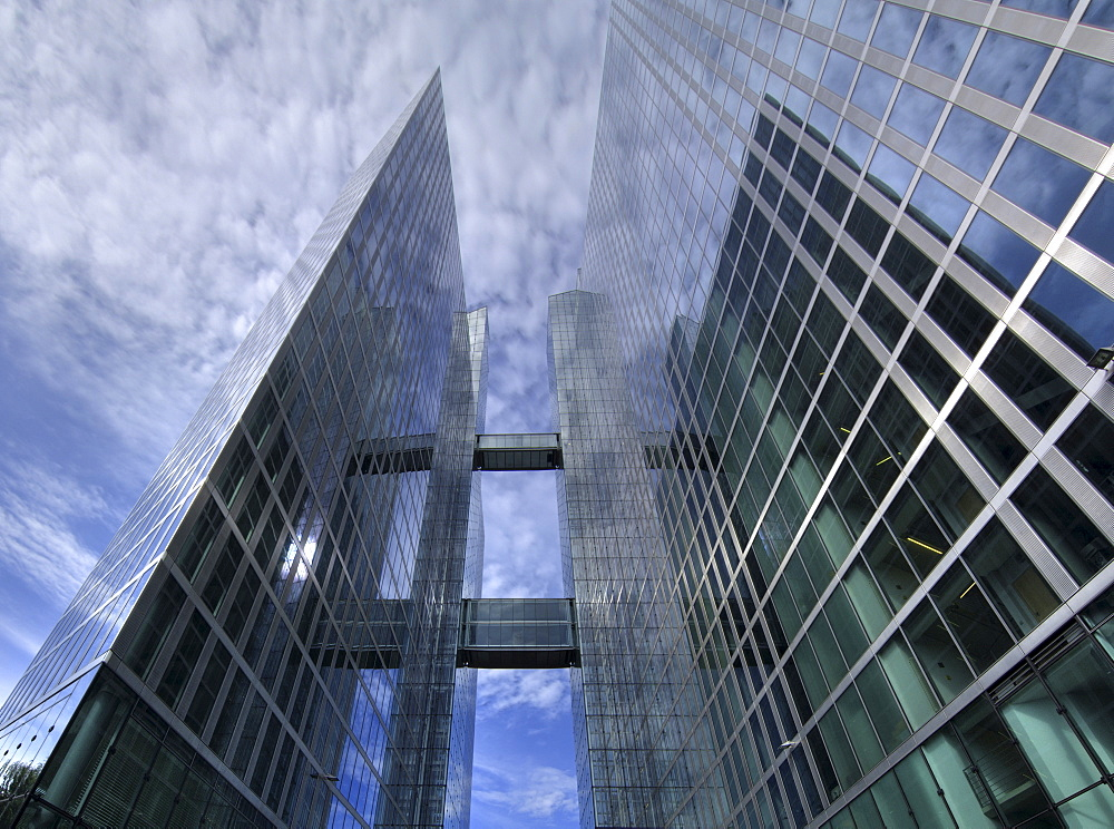 Highlight Towers, architects Murphy and Jahn, Munich, Bavaria, Germany