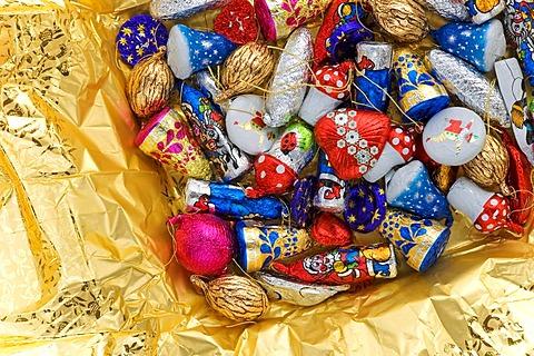 Chocolate christmas decoration
