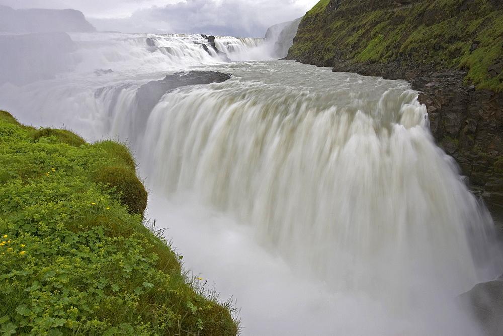 Gullfoss Falls, Haukadalur, Iceland
