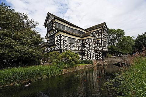 Little Moreton Hall, Congleton, Cheshire, England