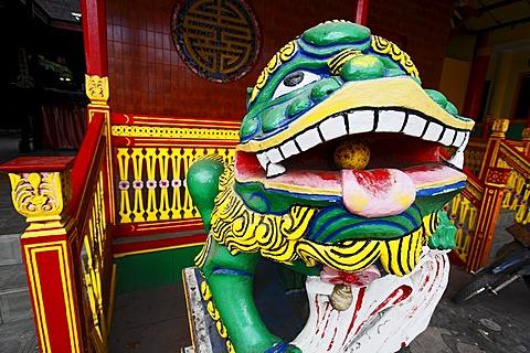 Chinese temple in Banjarmasin, Borneo, South-Kalimantan, Indonesia