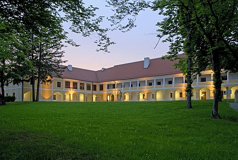 Castle Jormannsdorf Education center in the range of health care, Burgenland, Austria