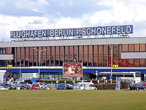 Berlin Schoenefeld Airport, exterior view. Berlin, Germany
