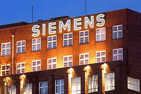 Siemens Branch-office, evening, Berlin, Germany