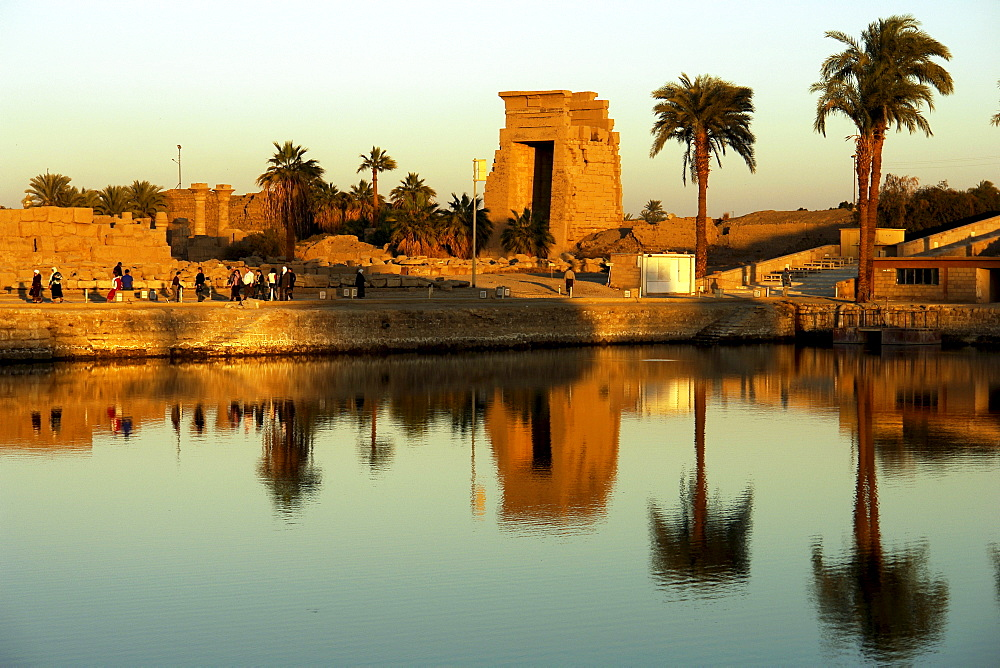 Temple site of Karnak, Luxor, Egypt