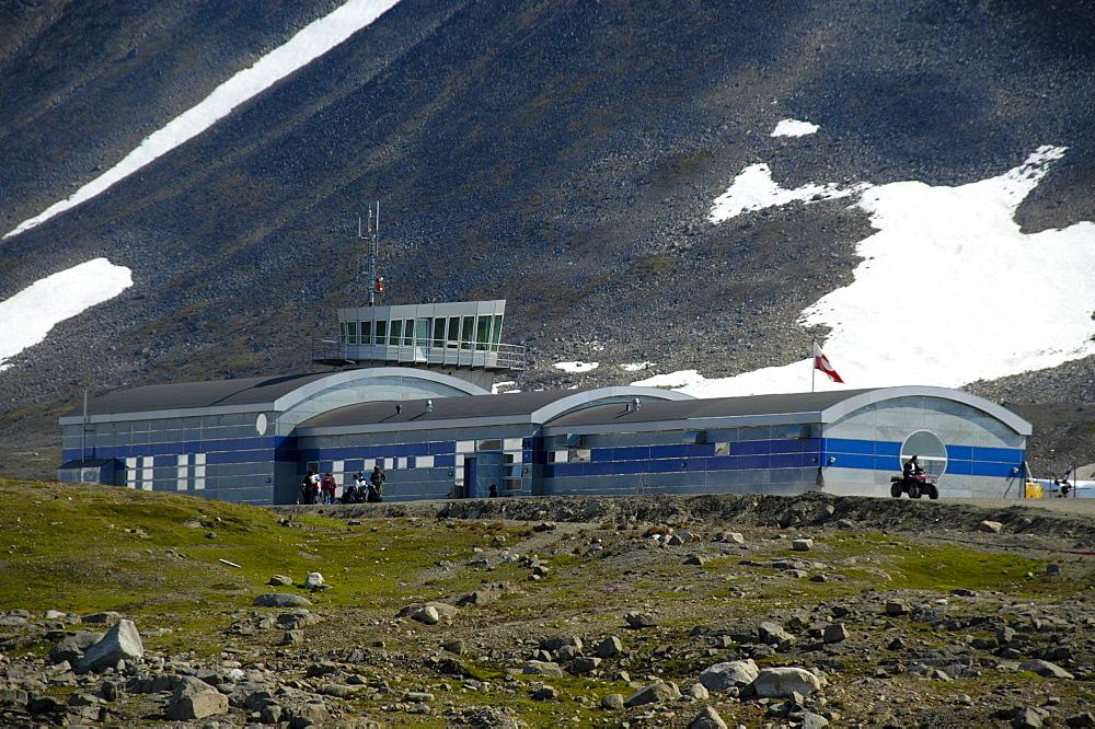 Kulusuk Airport, eastern Greenland, Arctic