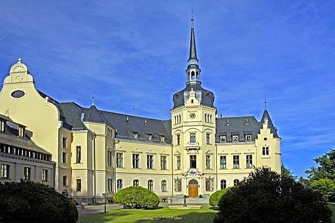 Castle Ralswiek, Ruegen, Mecklenburg-Western Pomerania, Germany