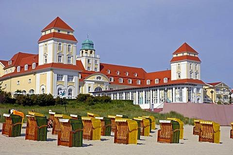 Pier of Binz, Ruegen, Mecklenburg-Western Pomerania, Germany