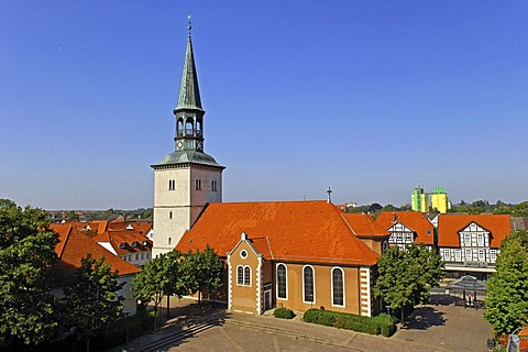 Church St. Pankratius at Burgdorf, Lower Saxony, Germany