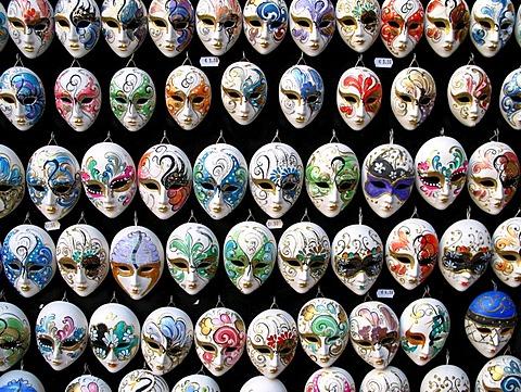 Masks, souvenir, venize, italy