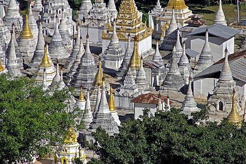 Burma, Myanmar, the Shwe-Umin-Pagoda at Pindaya